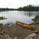 I know everyone is getting excited for and doing some Turkey Hunting right now, but I can't wait to get my paddle wet in the BWCA this Spring. This photo is from one of my 2010 trips. I got Beaver Fever from this very lake...